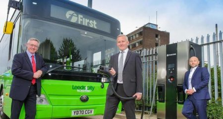 Leeds Zero Emission Bus (Image: Yorkshire Evening Post)