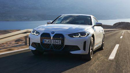 BMW i4 (Image: BMW.co.uk)